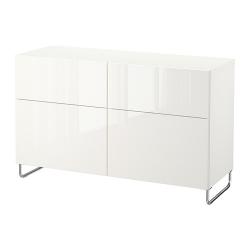 BESTÅ Comb almacenaje+puertas/cajones