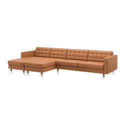 LANDSKRONA Sofá 5 plazas con 2 divanes
