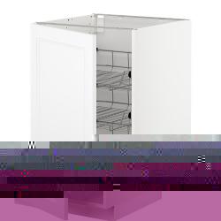 METOD Armario bajo cocina con cestos