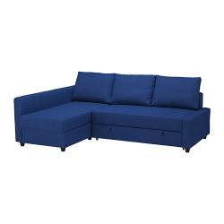 FRIHETEN Sofá cama esquina con almacenaje