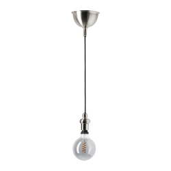 ROLLSBO/GOTHEM Pendant lamp with light bulb