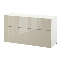 BESTÅ Comb almacenaje+puertas/gavetas