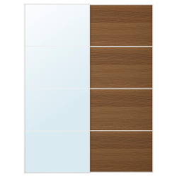 AULI/MEHAMN Pair of sliding doors