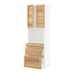 SEKTION/MAXIMERA Hi cb f micro w 3 drawers/2 doors