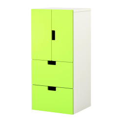 STUVA Combinación almacenaje+puertas/cajones
