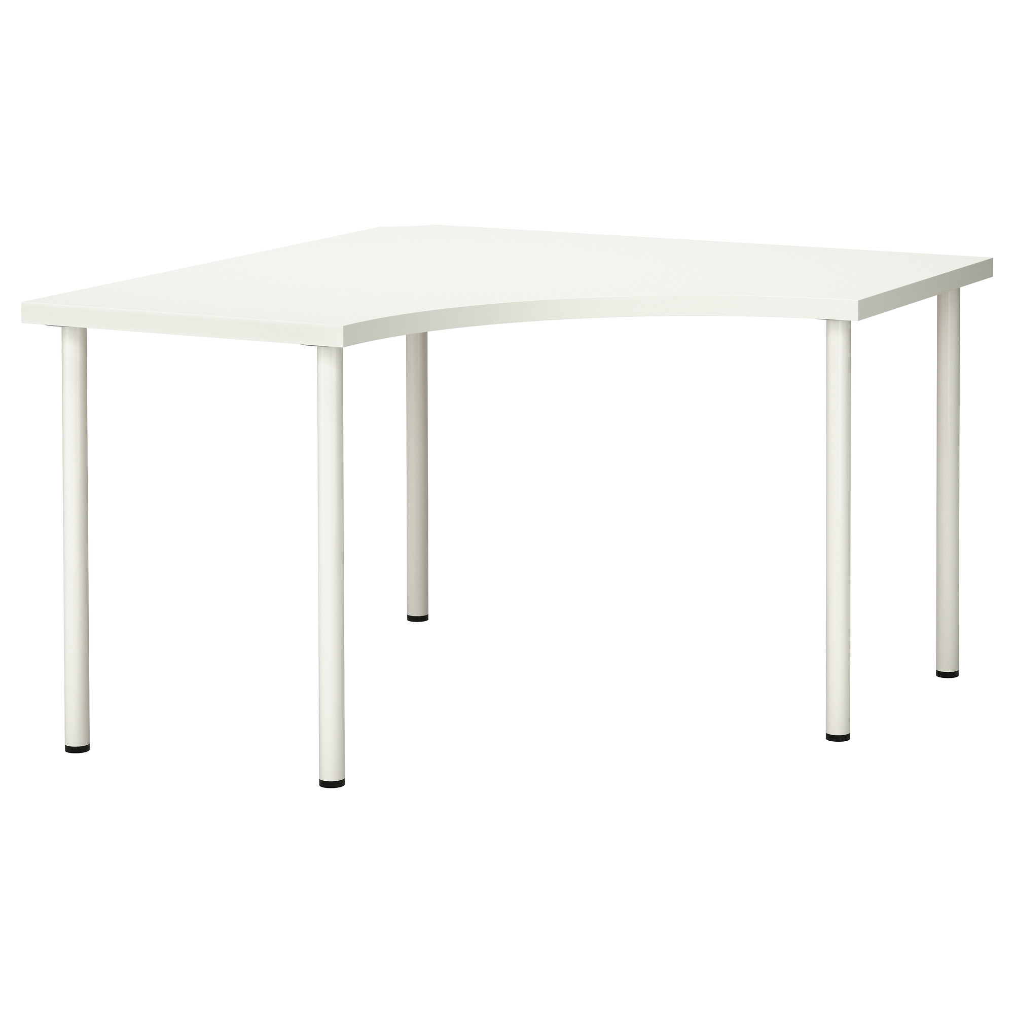 Linnmon adils mesa de esquina for Mesas para esquinas