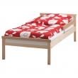 SNIGLAR Estructura de cama y riel de seguridad