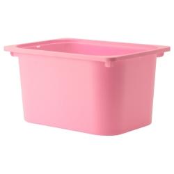 TROFAST Caja rosa
