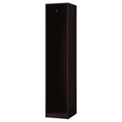 4 x PAX Estructura armario 50cm negro-marrón