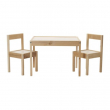 LÄTT Children's table with 2 chairs