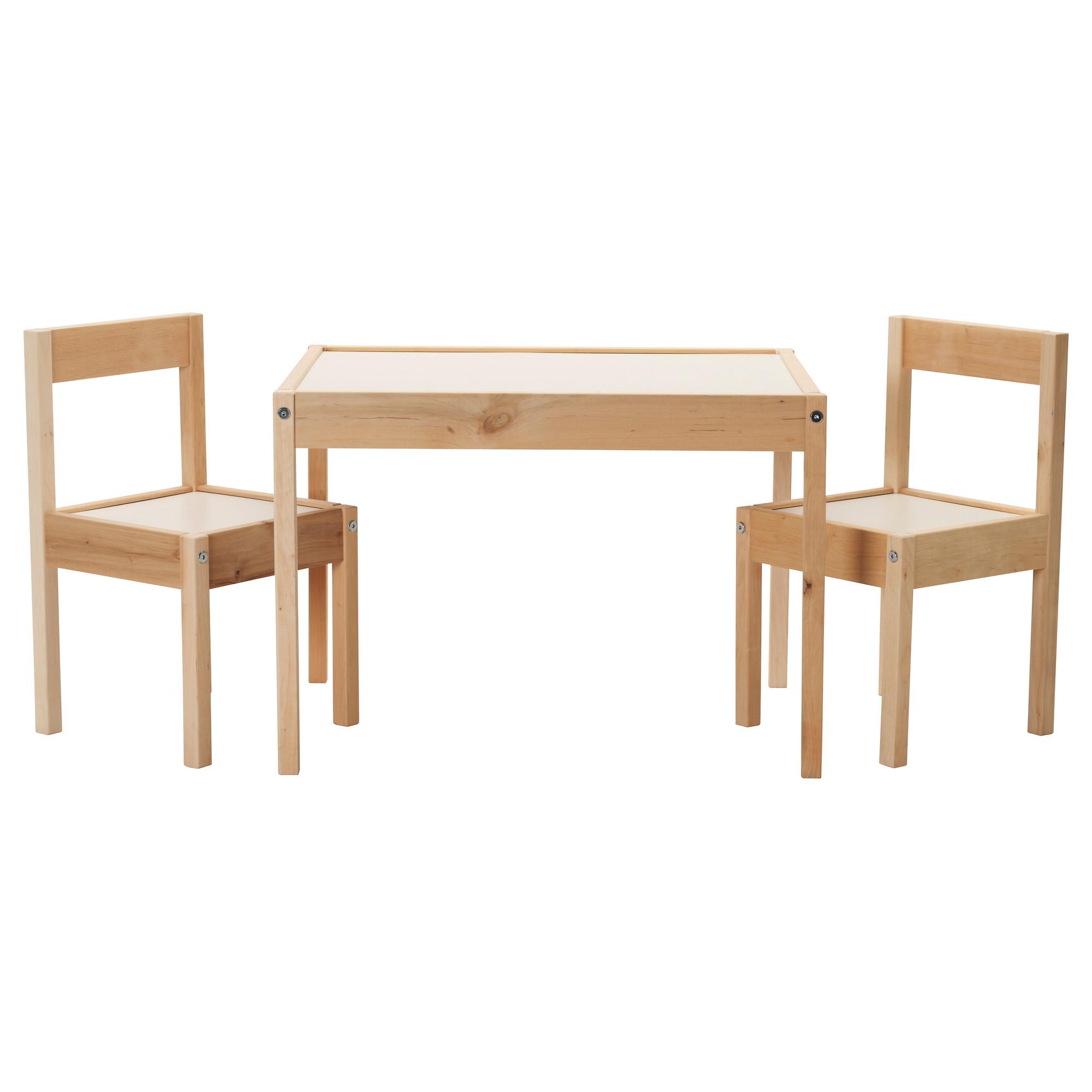 L tt mesa para ni os con 2 sillas for Mesas y sillas para ninas
