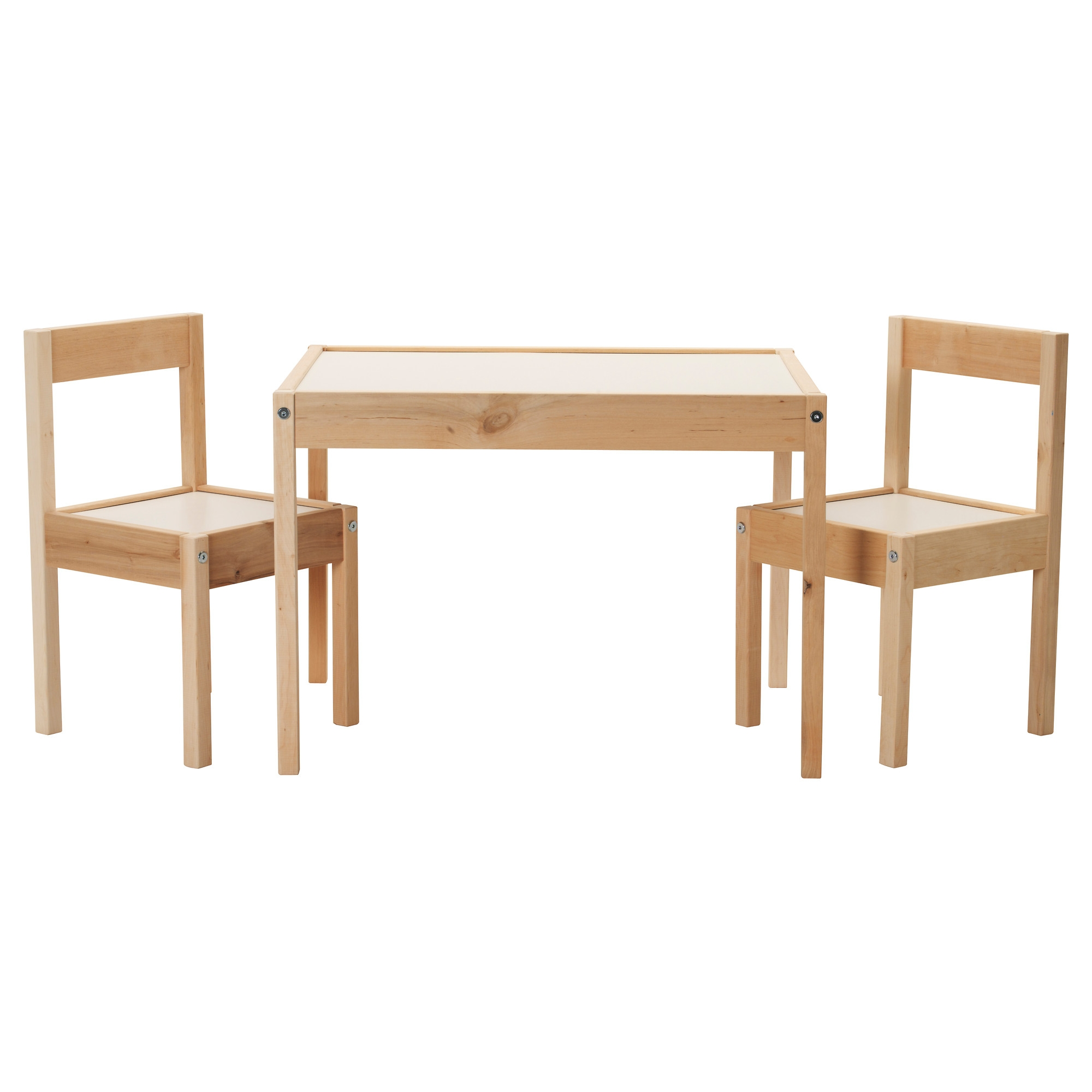 L tt mesa para ni os con 2 sillas for Medidas sillas ninos