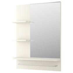 1 x LILLÅNGEN Espejo con estantes
