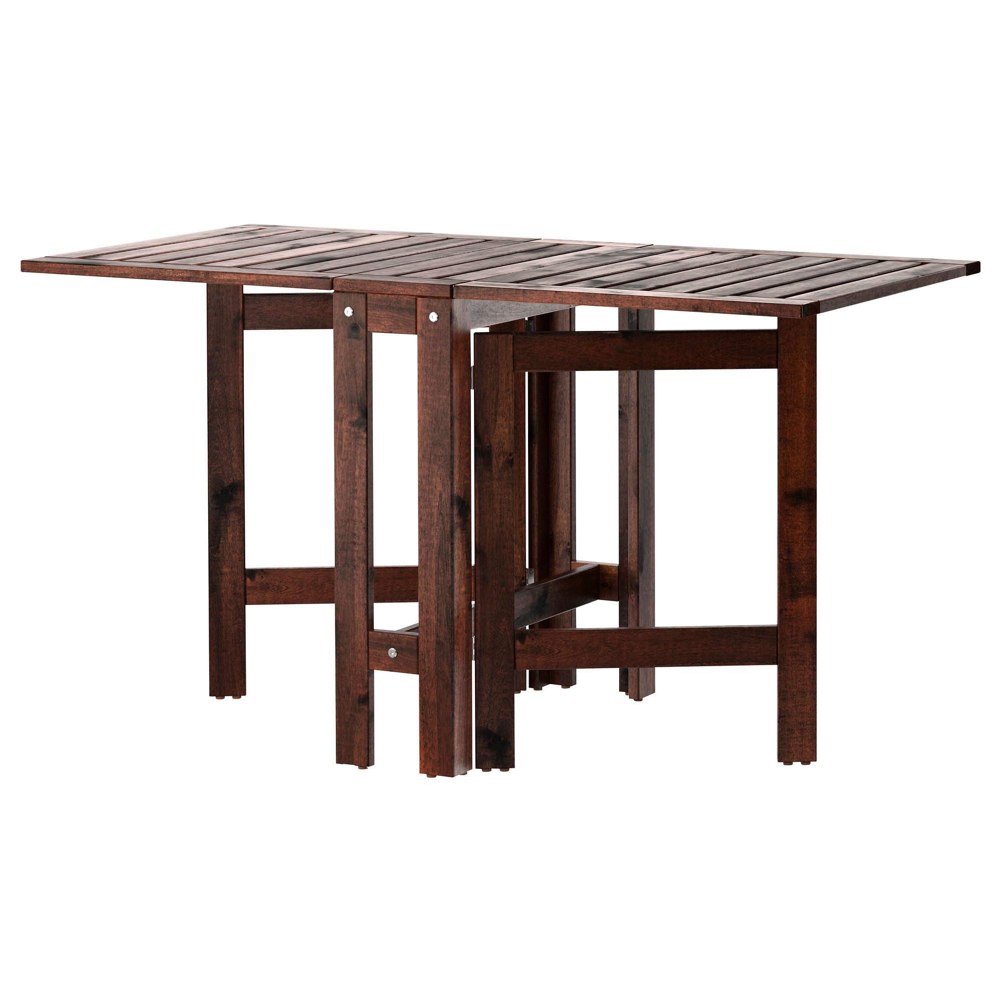 pplar mesa plegable acacia maciza