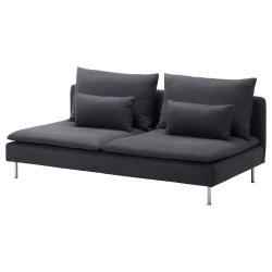 1 x SÖDERHAMN Funda módulo sofá 3 p