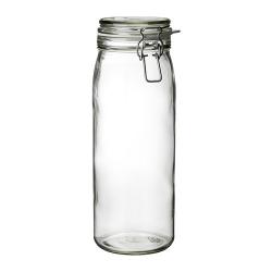 KORKEN Recipiente vidrio con tapa, 2lt