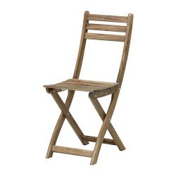 ASKHOLMEN Silla plegable madera