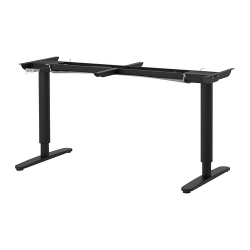 BEKANT Underframe sit/stand f table tp, el