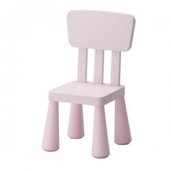 MAMMUT Silla para niño rosa claro