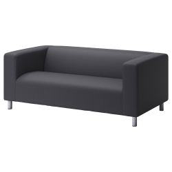 1 x KLIPPAN Cover two-seat sofa