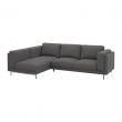 NOCKEBY Funda sofá 2 plazas+chaise longue