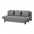 ASARUM Three-seat sofa-bed