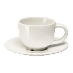VARDAGEN Taza/plato espresso, 6cl