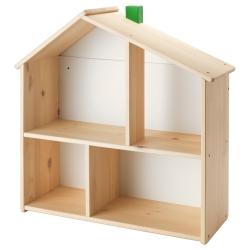 FLISAT Casa de muñecas/estante