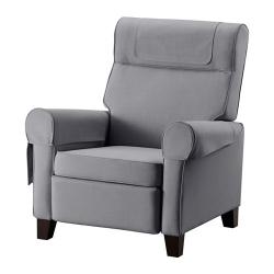 MUREN Sillón reclinable, NORDVALLA gris