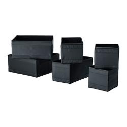 SKUBB Caja, juego de 6