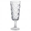FLIMRA Copa de cava, vidrio con relieve, 19cl