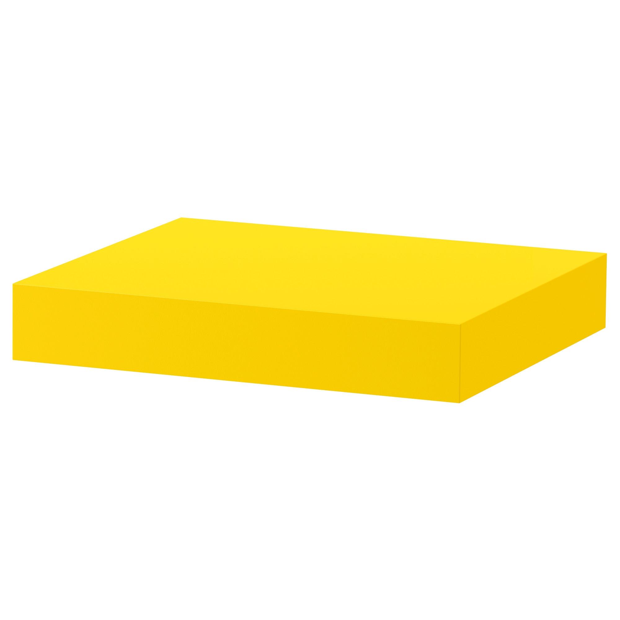 LACK estante de pared 34 amarillo