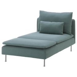1 x SÖDERHAMN Funda chaiselongue