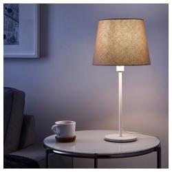 JÄRA Pantalla para lámpara beige 25 cm