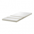 PLUTTEN Foam mattress for extendable bed