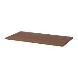 1 x IDÅSEN Tablero para escritorio 120x70 cm marrón