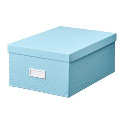 PALLRA Caja de almacenaje+tapa