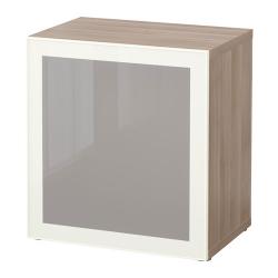 BESTÅ Estantería con puerta de vidrio