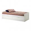 BRIMNES Diván + 2 mattresses MINNESUND firmes