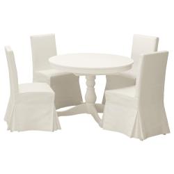 INGATORP/HENRIKSDAL Mesa con 4 sillas