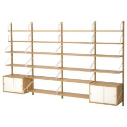 SVALNÄS Combinación almacenaje pared