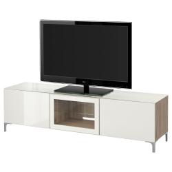 BESTÅ Banco TV+puertas