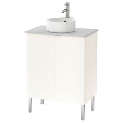 LILLÅNGEN/VISKAN/GUTVIKEN Armario lavamanos+2puertas
