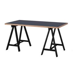 LINNMON/ODDVALD Mesa de escritorio 150x75 cm azul/negro