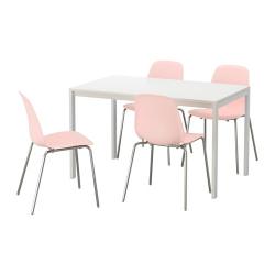 MELLTORP/LEIFARNE Mesa con 4 sillas
