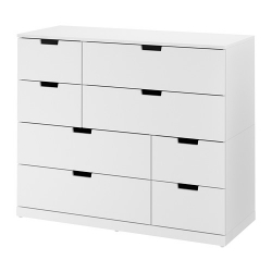 NORDLI Chest of 8 drawers
