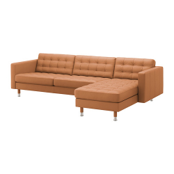 LANDSKRONA Sofá 4 plazas con diván