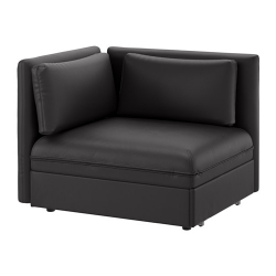 VALLENTUNA Módulo sofá cama con reposabrazos