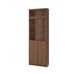 BILLY Librero/mód ext alt/puerta pnl/vdr