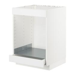 METOD/MAXIMERA Armario bajo para placa y horno
